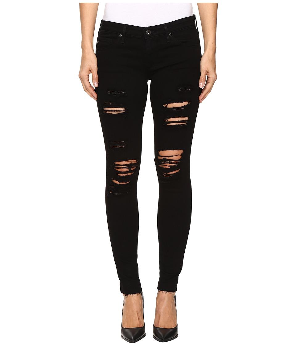 AG Adriano Goldschmied - Leggings Ankle in Darkest Night (Darkest Night) Women's Jeans