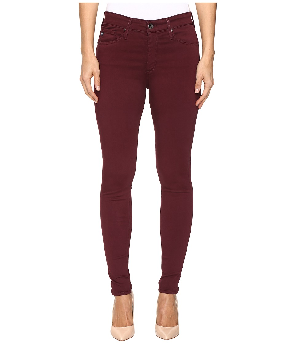 AG Adriano Goldschmied - Farrah in Wine (Wine) Women's Jeans
