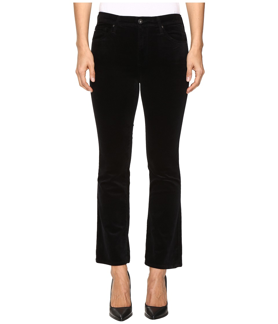 AG Adriano Goldschmied - Jodi Crop in Super Black (Super Black) Women's Jeans