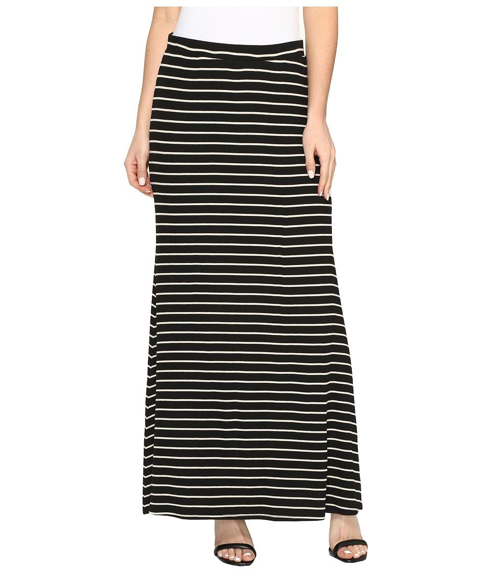 Karen Kane - Side Slit Maxi Skirt (Stripe) Women's Skirt