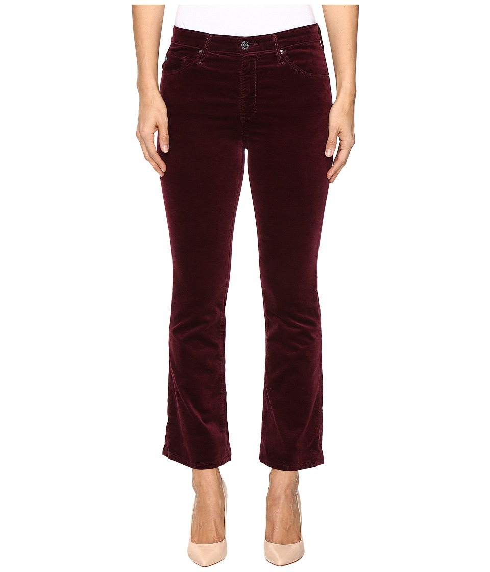AG Adriano Goldschmied - Jodi Crop in Wine (Wine) Women's Jeans
