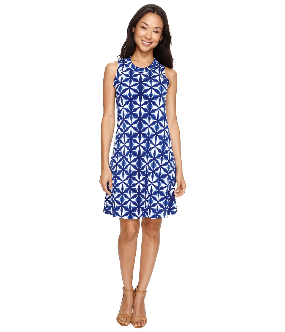 Karen Kane - Kaleidoscope Halter Dress (Print) Women's Dress