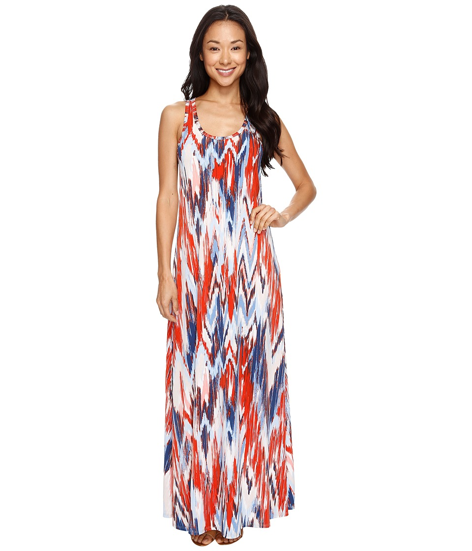 Karen Kane - Tasha Maxi Dress (Print) Women's Dress