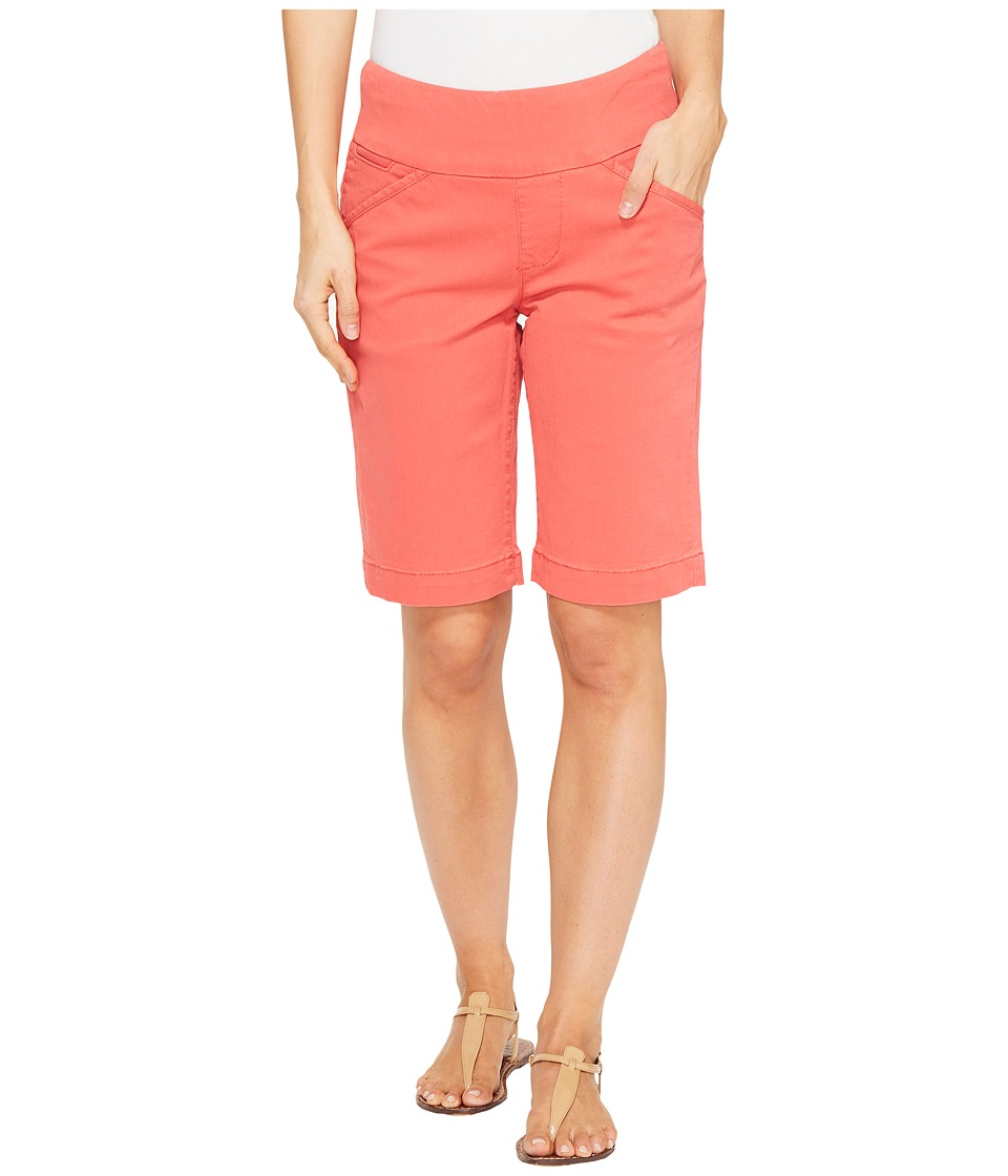 Jag Jeans - Ainsley Bermuda Classic Fit Bay Twill (Coral Spice) Women's Shorts