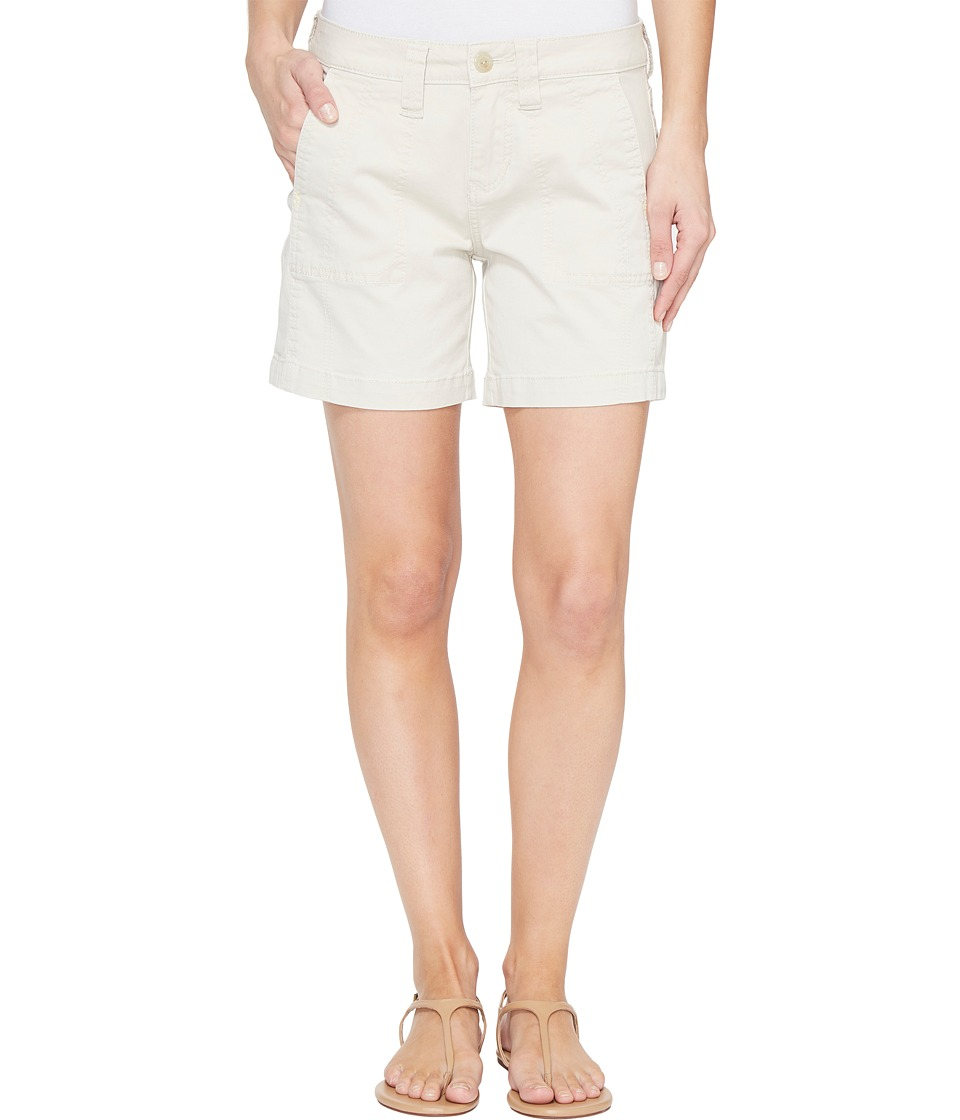 Jag Jeans - Somerset Relaxed Fit Shorts in Bay Twill (Stone) Women's Shorts