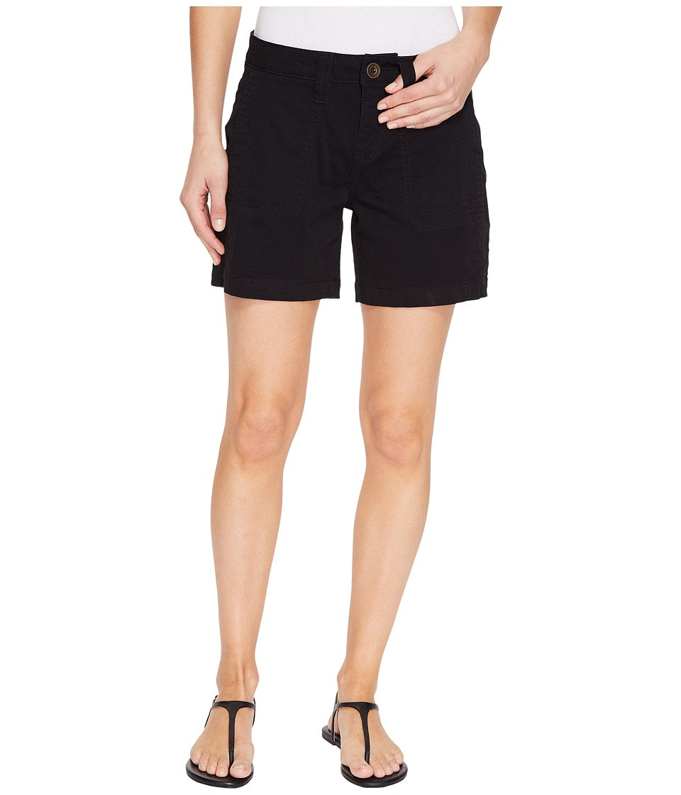 Jag Jeans - Somerset Relaxed Fit Shorts in Bay Twill (Black) Women's Shorts