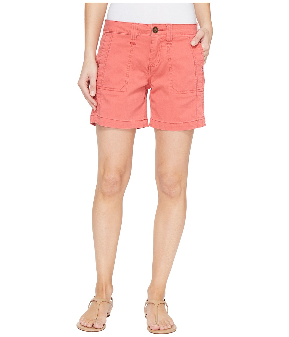 Jag Jeans - Somerset Relaxed Fit Shorts in Bay Twill (Coral Spice) Women's Shorts