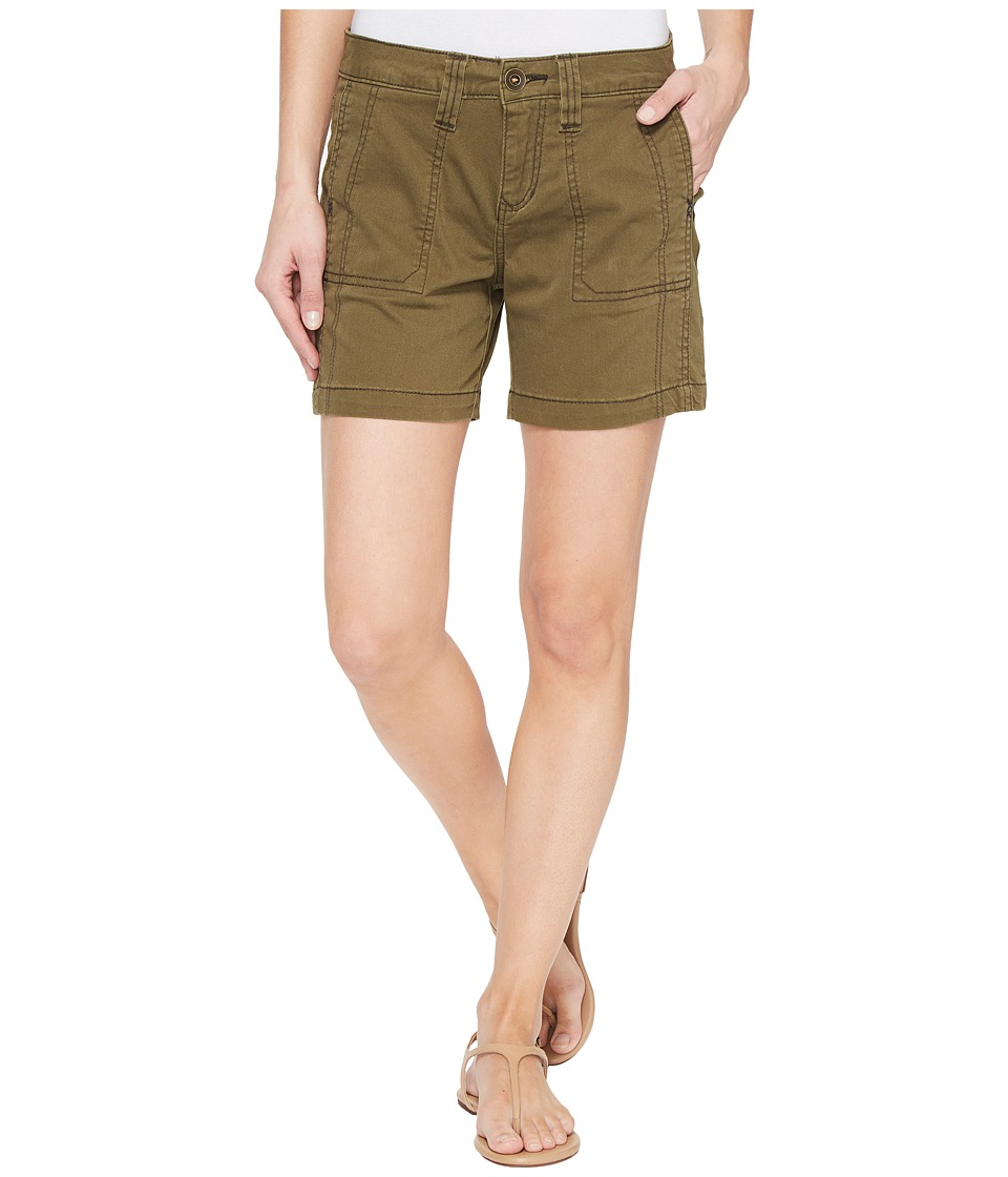 Jag Jeans - Somerset Relaxed Fit Shorts in Bay Twill (Hedge) Women's Shorts