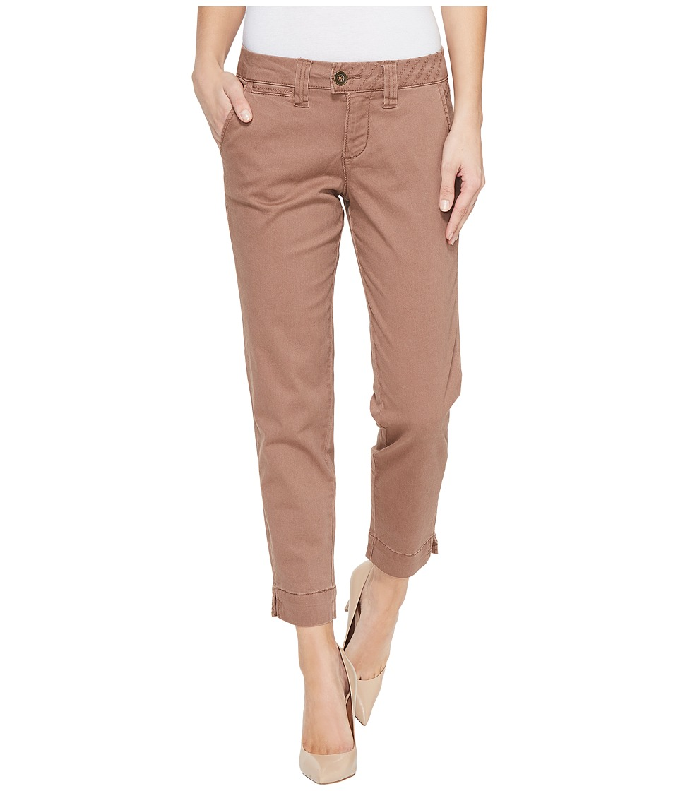 Jag Jeans - Creston Ankle Crop in Bay Twill (Birds Nest) Women's Casual Pants