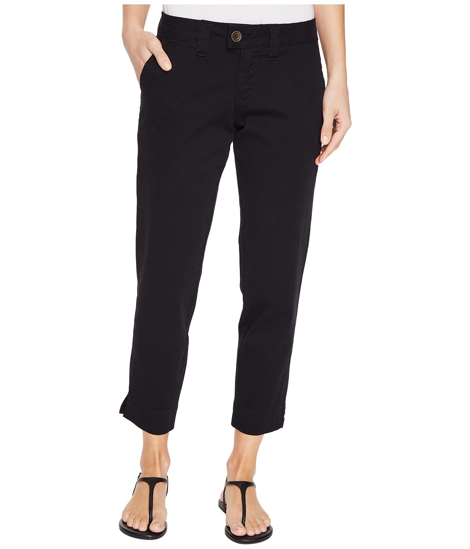 Jag Jeans - Creston Ankle Crop in Bay Twill (Black) Women's Casual Pants