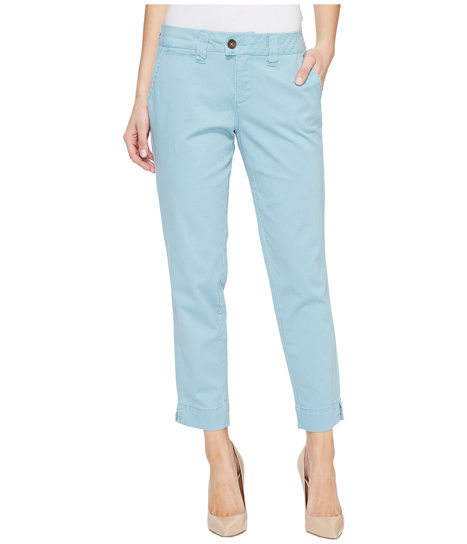 Jag Jeans - Creston Ankle Crop in Bay Twill (Nile) Women's Casual Pants