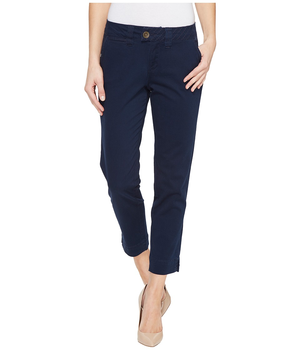 Jag Jeans - Creston Ankle Crop in Bay Twill (Nautical Navy) Women's Casual Pants
