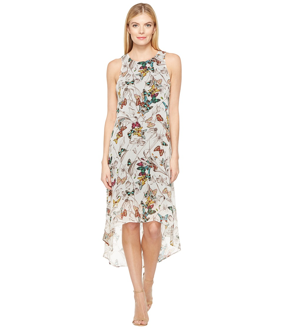 Karen Kane - Butterfly Hi-Lo Hem Dress (Print) Women's Dress