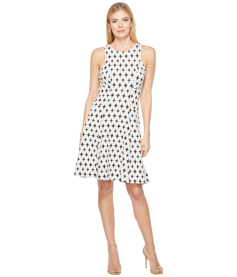 Karen Kane - Jacquard Knit Flare Dress (Jacquard) Women's Dress