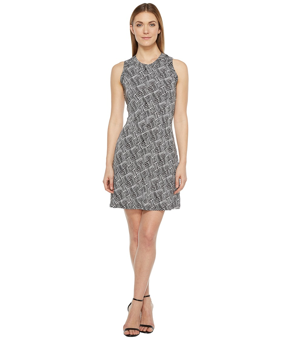 Karen Kane - Crew Neck Halter Dress (Print) Women's Dress