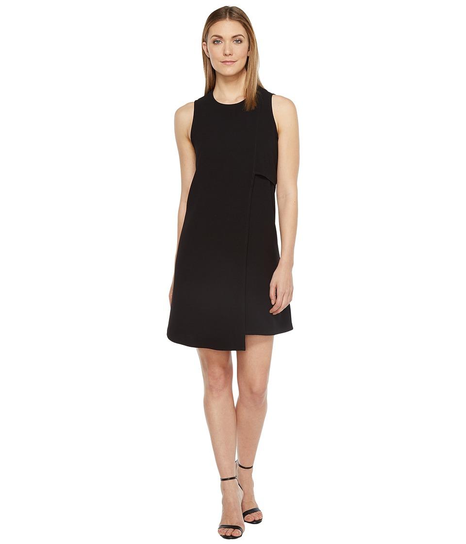 Karen Kane - Asymmetric Shift Dress (Off-White) Women's Dress