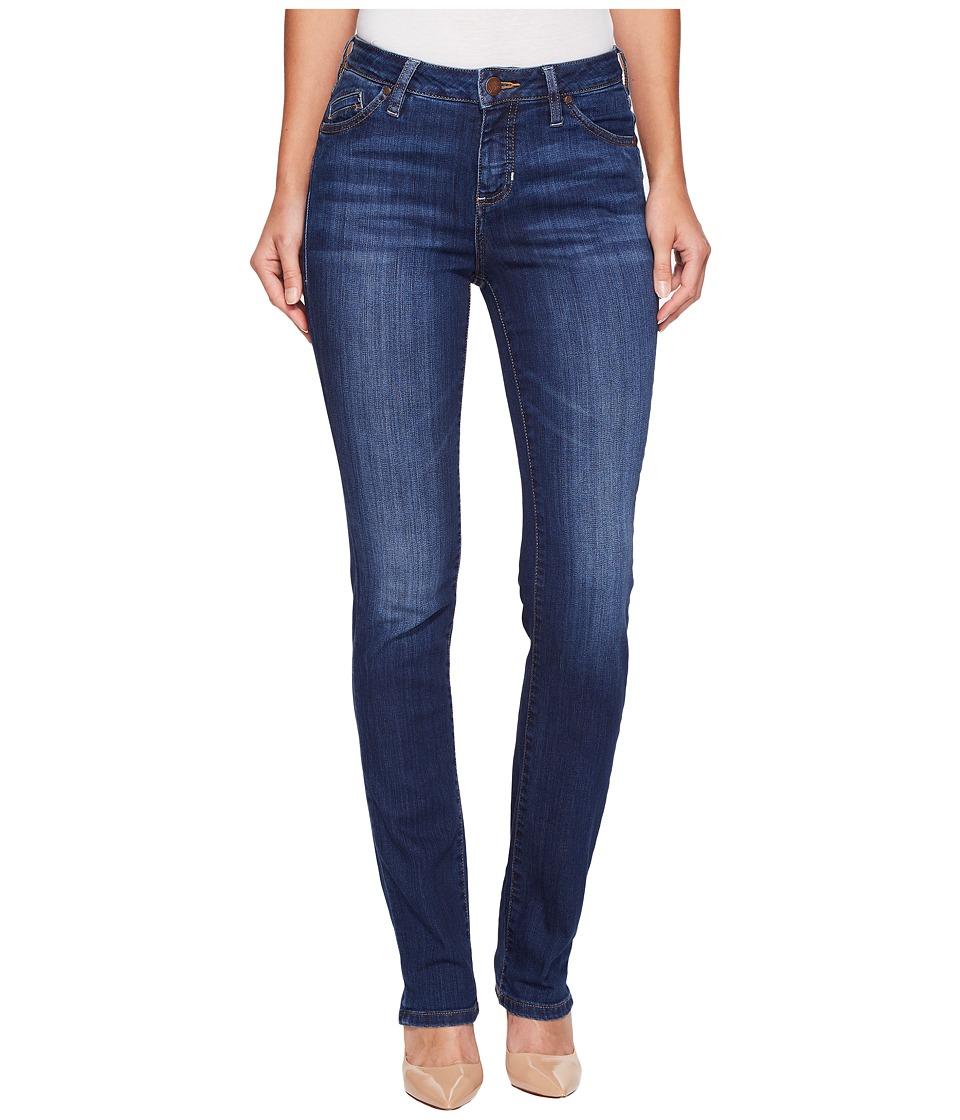 Jag Jeans Portia Straight Platinum Denim in Bucket Blue (Bucket Blue) Women