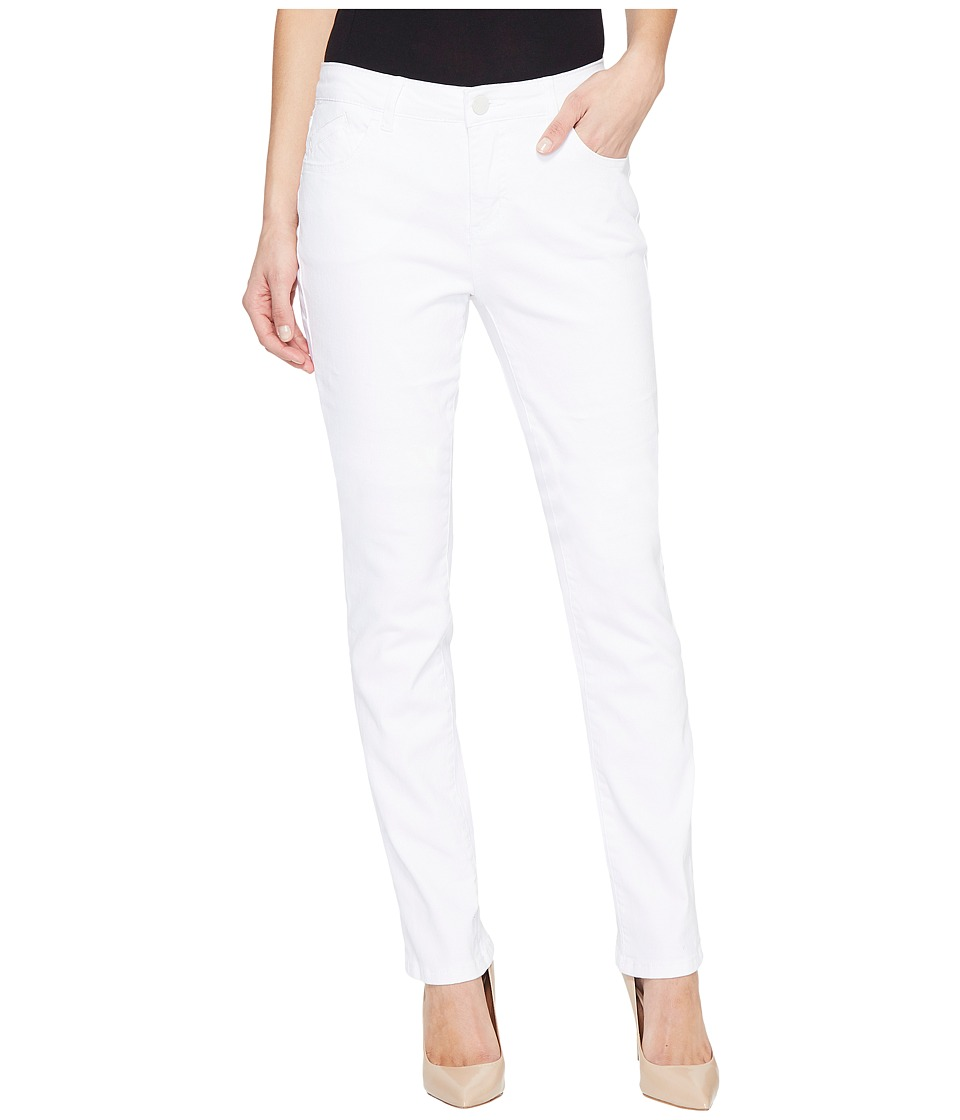 Jag Jeans - Portia Straight Denim in White (White) Women's Jeans