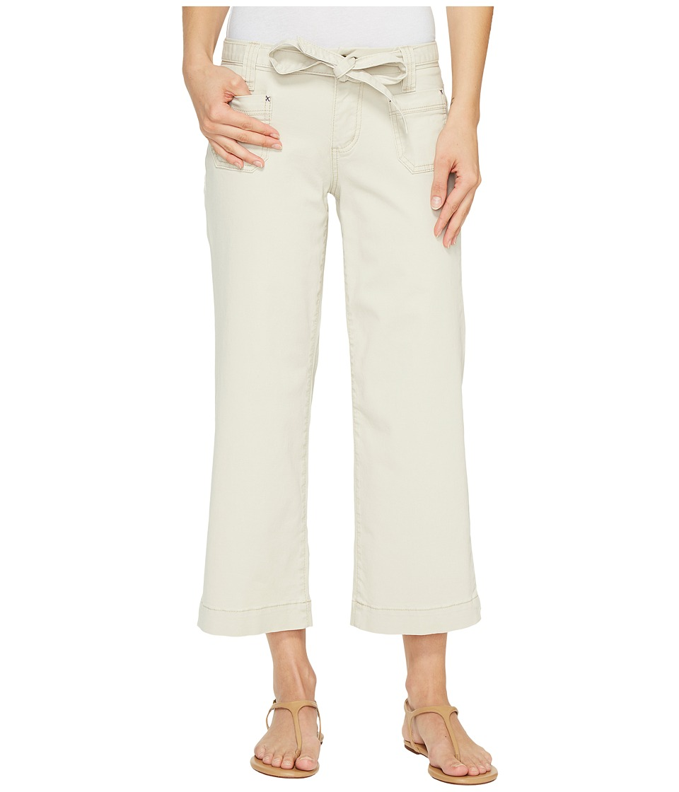 Jag Jeans - Wallace Crop in Bay Twill (Stone) Women's Casual Pants