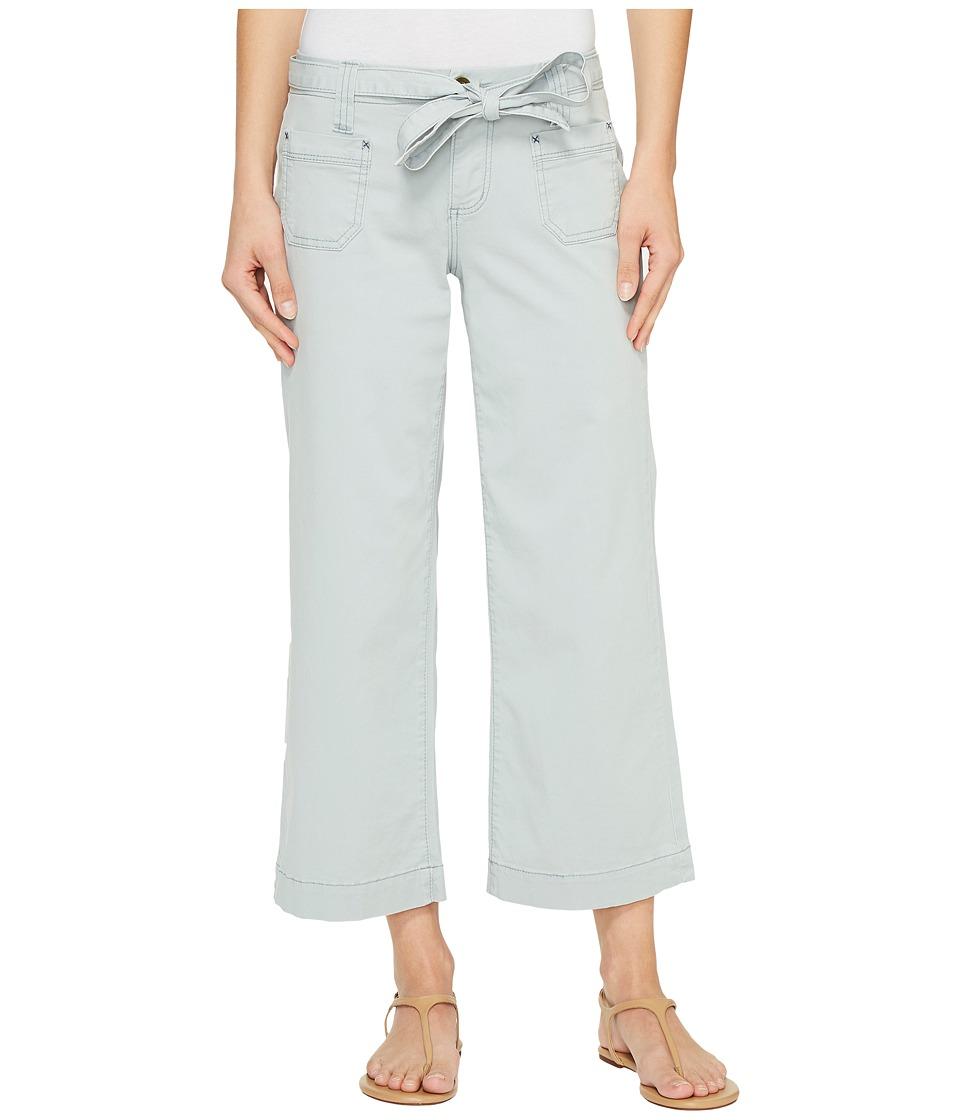 Jag Jeans - Wallace Crop in Bay Twill (Soft Sage) Women's Casual Pants