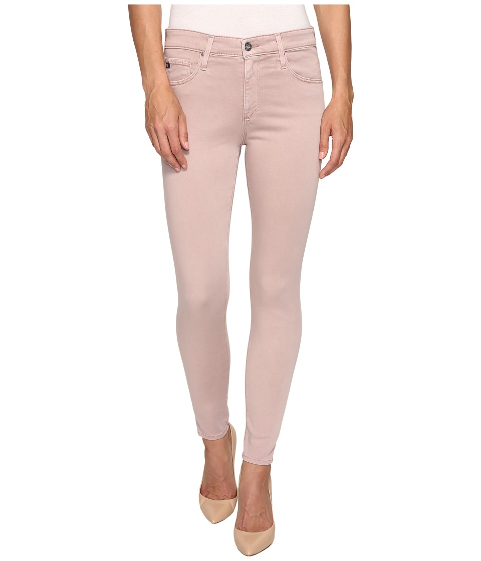 AG Adriano Goldschmied Farrah Crop in Sulfur Deco Mauve (Sulfur Deco Mauve) Women