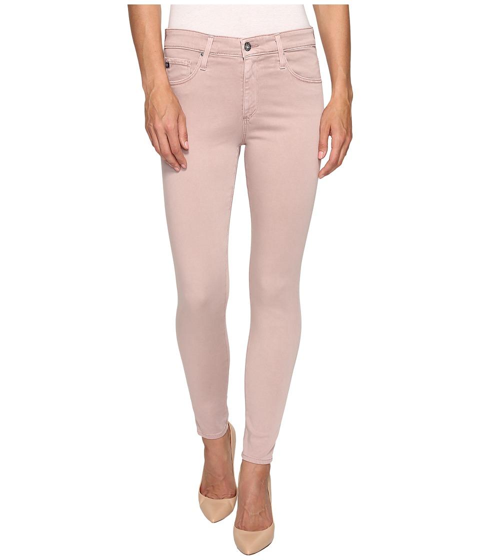 AG Adriano Goldschmied - Farrah Crop in Sulfur Deco Mauve (Sulfur Deco Mauve) Women's Jeans