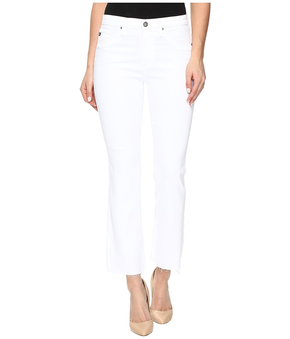 AG Adriano Goldschmied - Jodi Crop in White (White) Women's Jeans