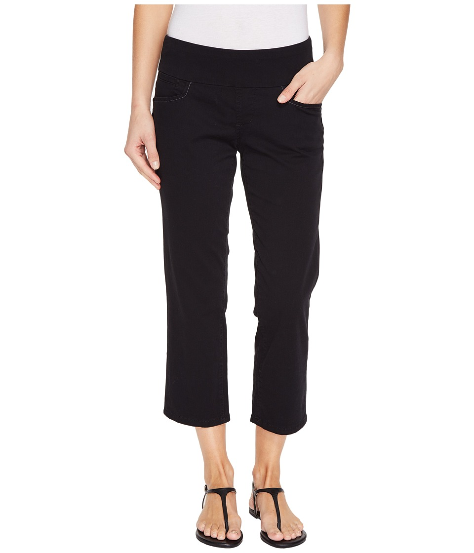 Jag Jeans - Baker Pull-On Crop in Bay Twill (Black) Women's Casual Pants
