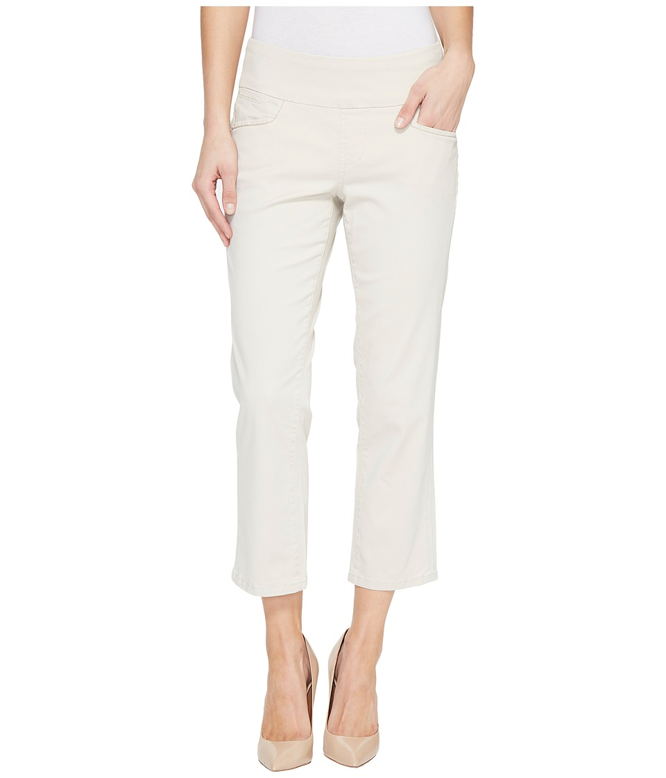 Jag Jeans - Baker Pull-On Crop in Bay Twill (Stone) Women's Casual Pants
