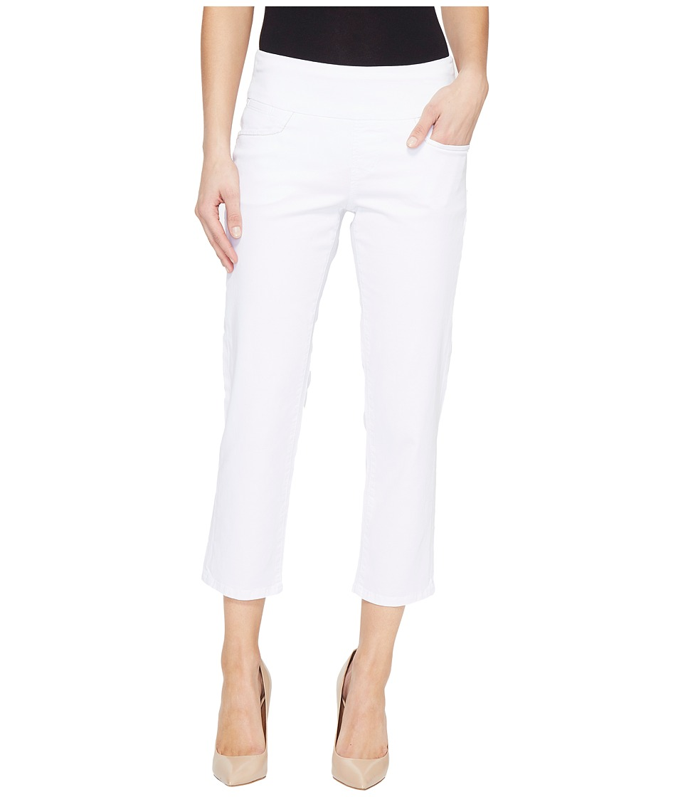 Jag Jeans - Baker Pull-On Crop in Bay Twill (White) Women's Casual Pants