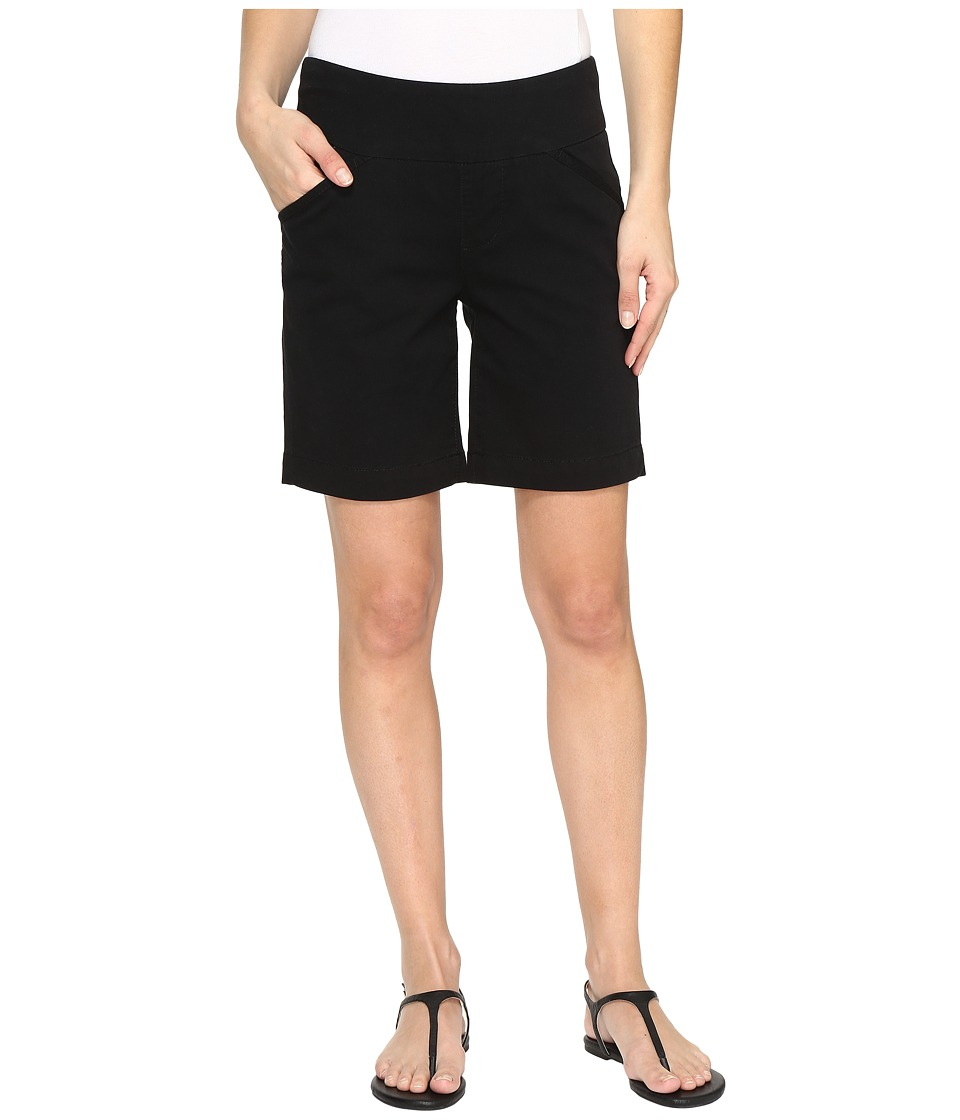 Jag Jeans - Ainsley Pull-On 8 Shorts in Bay Twill (Black) Women's Shorts