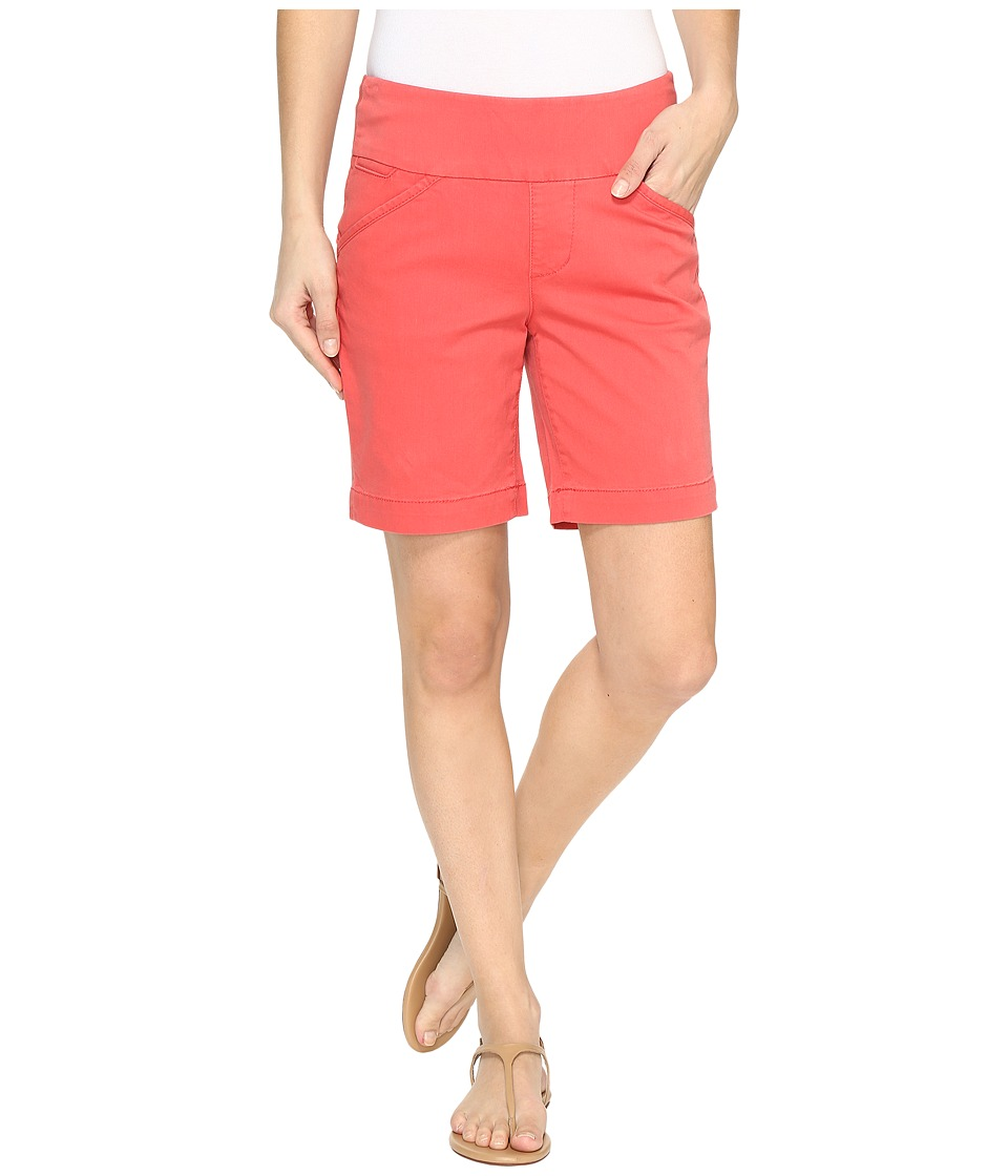 Jag Jeans - Ainsley Pull-On 8 Shorts in Bay Twill (Coral Spice) Women's Shorts