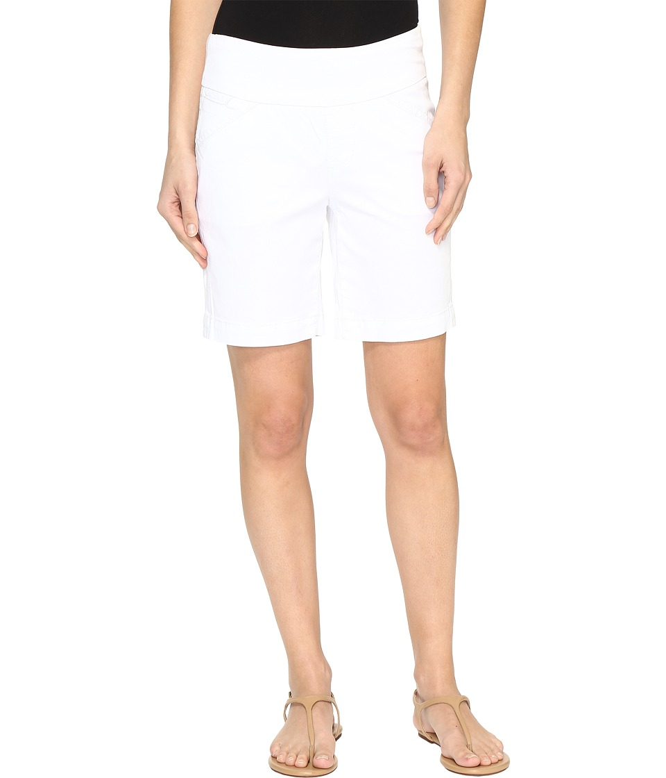 Jag Jeans - Ainsley Pull-On 8 Shorts in Bay Twill (White) Women's Shorts