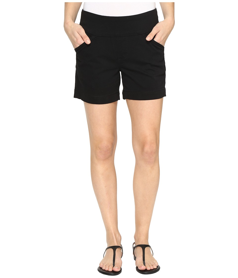 Jag Jeans - Ainsley Pull-On 5 Shorts in Bay Twill (Black) Women's Shorts
