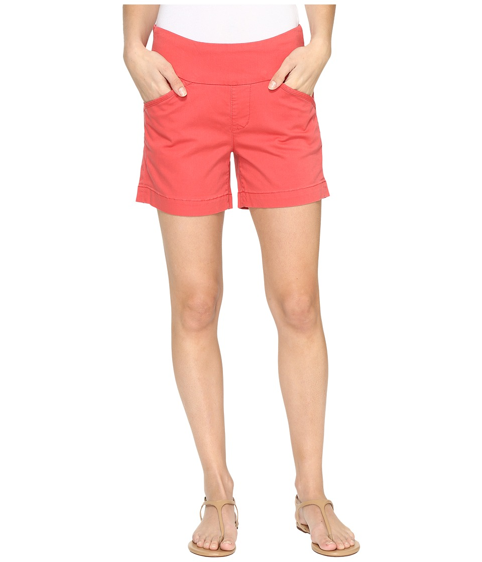 Jag Jeans - Ainsley Pull-On 5 Shorts in Bay Twill (Coral Spice) Women's Shorts