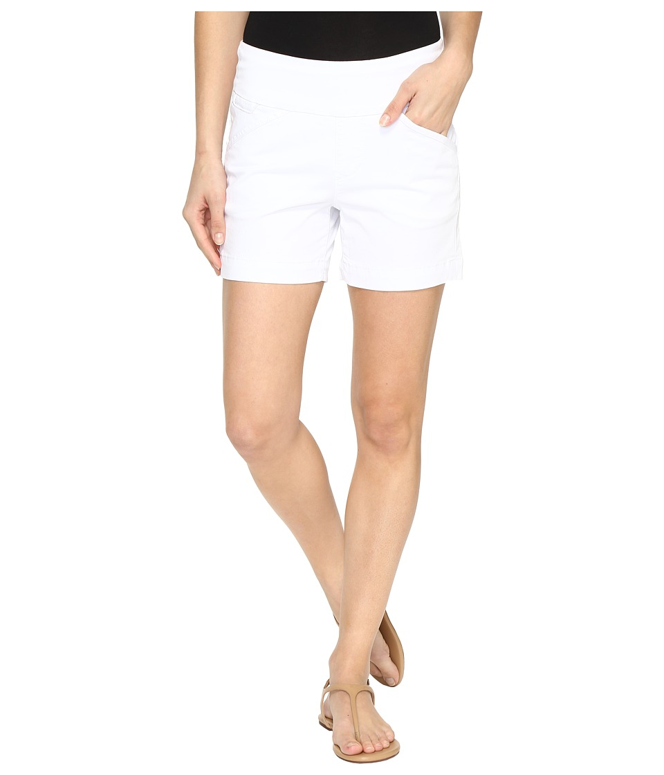 Jag Jeans - Ainsley Pull-On 5 Shorts in Bay Twill (White) Women's Shorts