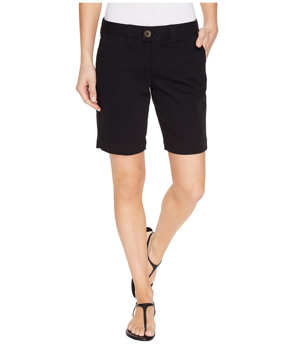 Jag Jeans - Creston Shorts in Bay Twill (Black) Women's Shorts