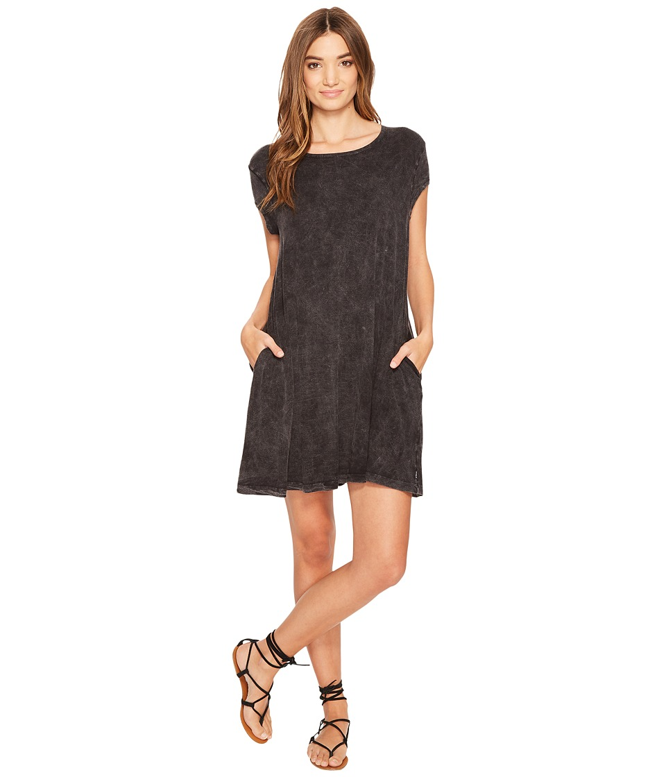 RVCA - Punch Out Dress (Black) Women's Dress