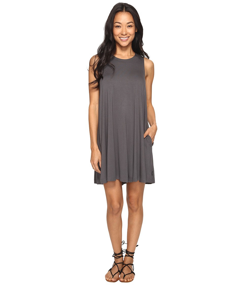 RVCA - Sucker Punch 2 Dress (Greyskull) Women's Dress