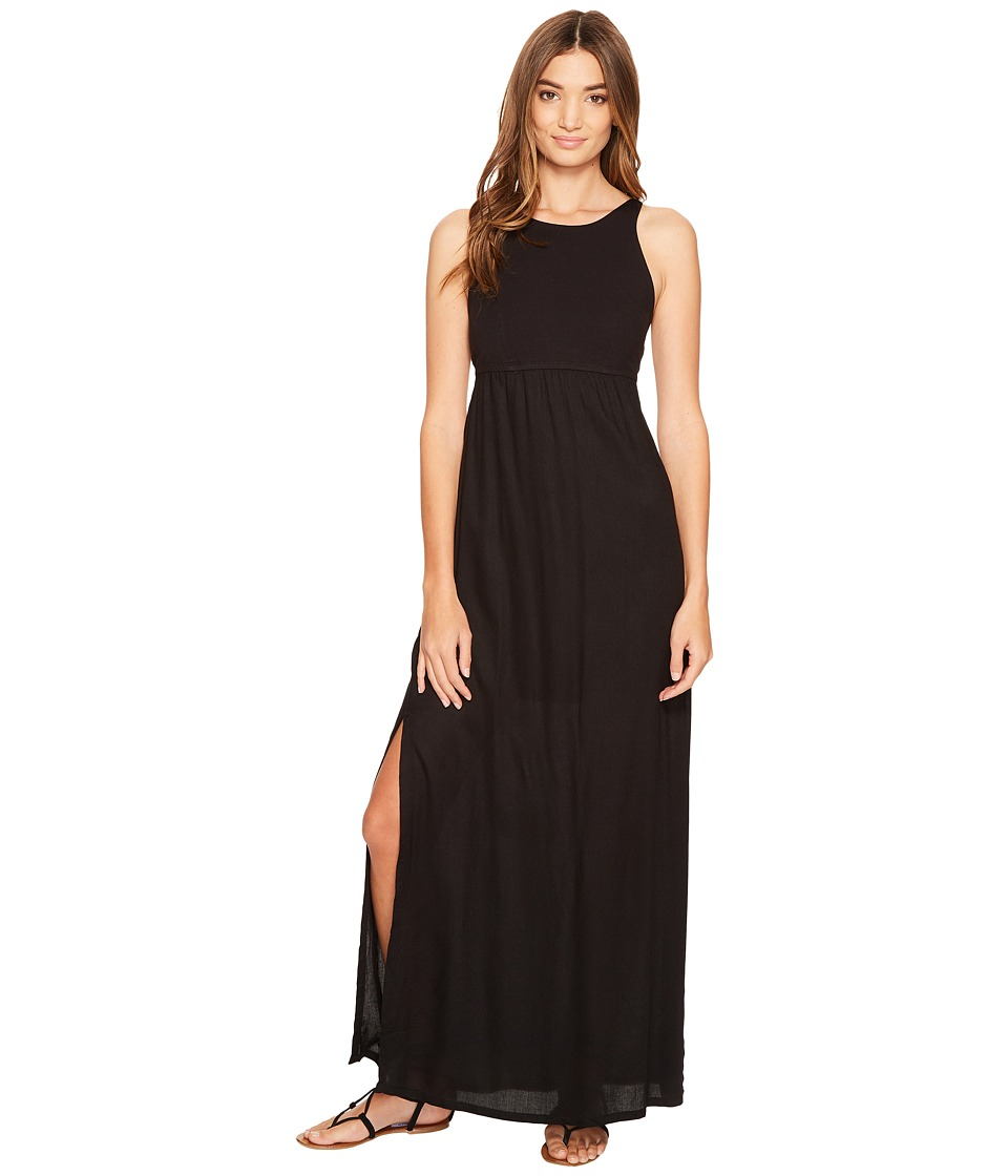 RVCA - Hazel Maxi Dress (Black) Women's Dress