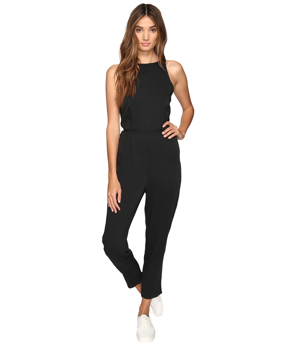 RVCA - Livonia Jumpsuit (Black) Women's Jumpsuit & Rompers One Piece