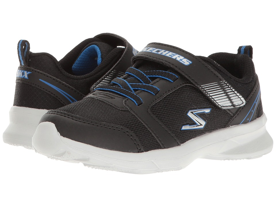 SKECHERS KIDS - Skech - Stepz - Powerjump (Toddler/Little Kid) (Black/Royal) Boy's Shoes