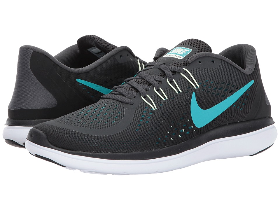 Nike - Flex RN 2017 (Anthracite/Clear Jade/Black/Blustery) Men's Running Shoes