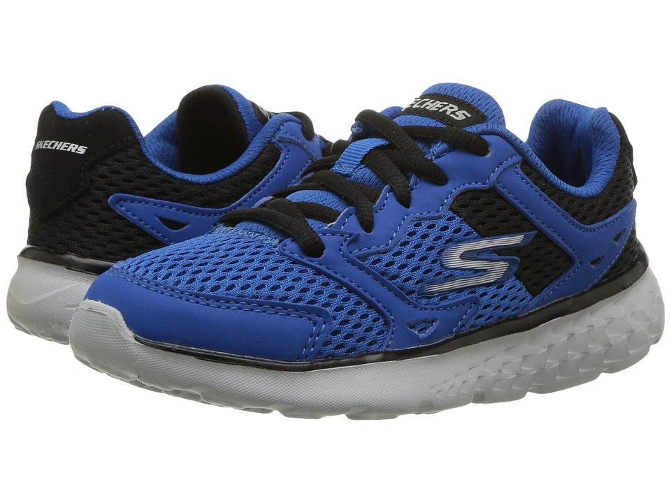 SKECHERS KIDS - Go Run 400 (Little Kid/Big Kid) (Royal/Black) Boy's Shoes