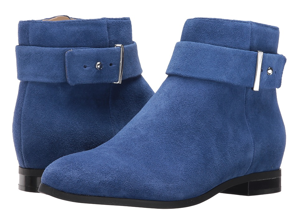 Nine West Objective (Dark Blue Suede) Women