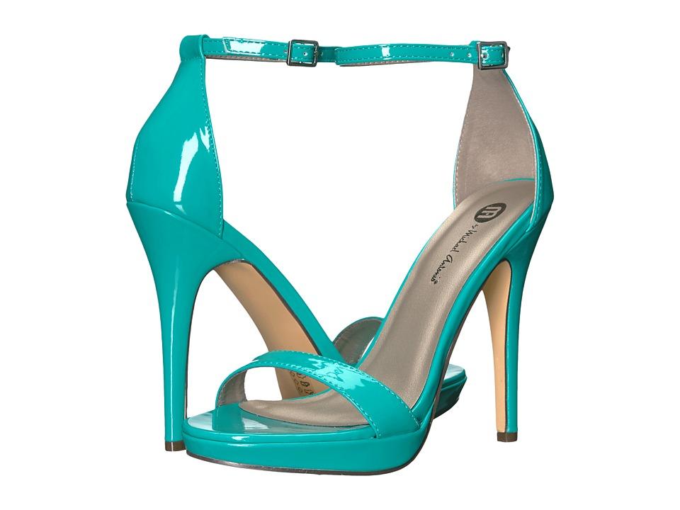 Michael Antonio Lovina Patent (Turquoise) High Heels