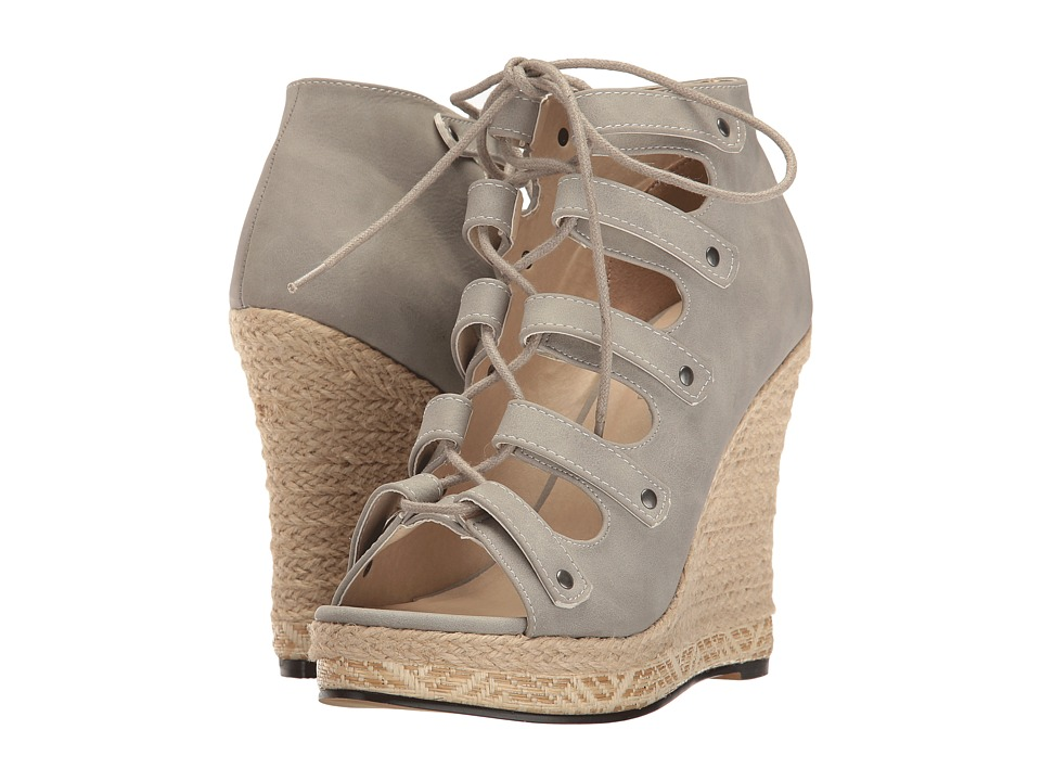 Michael Antonio - Gizi (Grey) Women's Wedge Shoes
