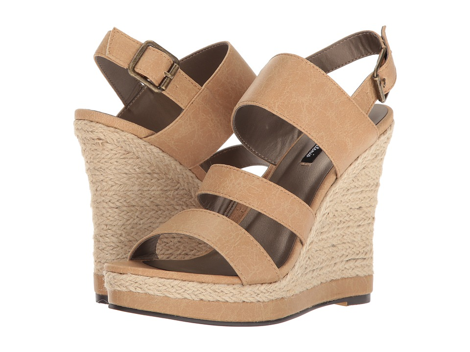 Michael Antonio - Givs (Natural) Women's Wedge Shoes