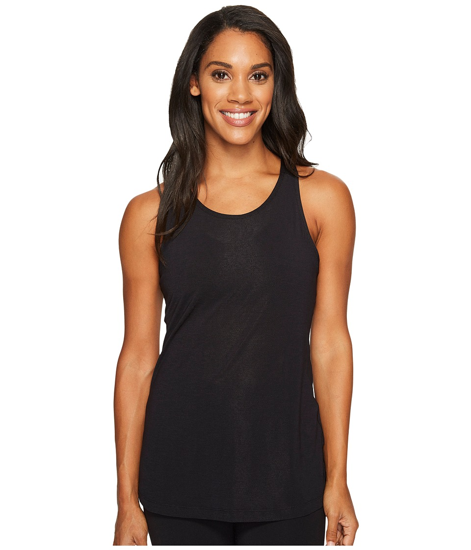 Lucy - Light Free Racerback Tank Top (Lucy Black) Women's Sleeveless