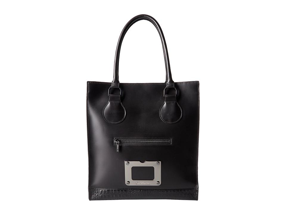 Dr. Martens - Lux Tote Bag (Black Vibrance Croco) Tote Handbags